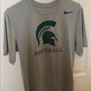 Michigan State Football T Shirt